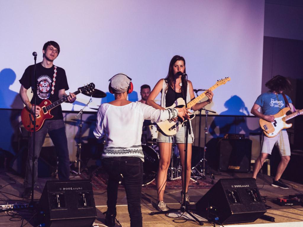 Popakademie Bandperformance Coaching