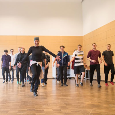 Choreographie Bettina Habekost
